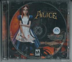 American McGee's Alice (2-Disc PC CD-Rom, Windows, 2000, EA Games)  - $21.46