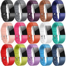 15 PACK Fitbit Charge 2 Wristband Silicone Bracelet Strap Replacement Ba... - $58.99