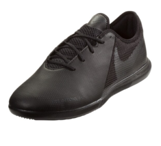 NEW Nike Phantom VSN TF Academy Black Indoor Turf Soccer Shoes Mens Size 12 - $44.54