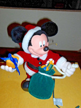 "Santa's Best Mickey Unlimited 11"" Animated Mickey Mouse Ornament   - $19.99"