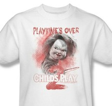 Child's Play II T-shirt Chucky retro horror movie cotton graphic tee  UNI400 image 2