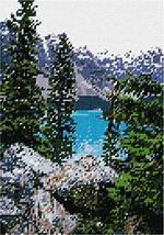 pepita Mountains and Lake Needlepoint Kit - $84.00