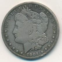 1904-S MORGAN SILVER DOLLAR-SEMI KEY-NICE CIRCULATED DOLLAR-SHIPS FREE! ... - $36.95