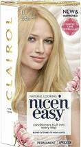 3x Clairol Nice 'n Easy Permanent Hair Dye Number - 11 Ultra Light Blonde - $33.59