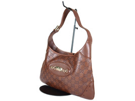 Auth GUCCI Guccissima Leather Brown Shoulder Bag GS2162 - $369.00