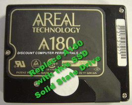 """SSD AREAL A180 2.5"""" IDE Drive Replace with this SSD 1GB 2.5"""" 44 PIN IDE Card image 1"""