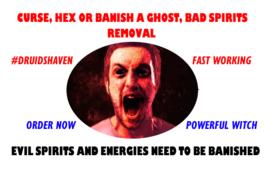 Remove a curse hex  banlsh a ghost bad spirits exorcism thumb200