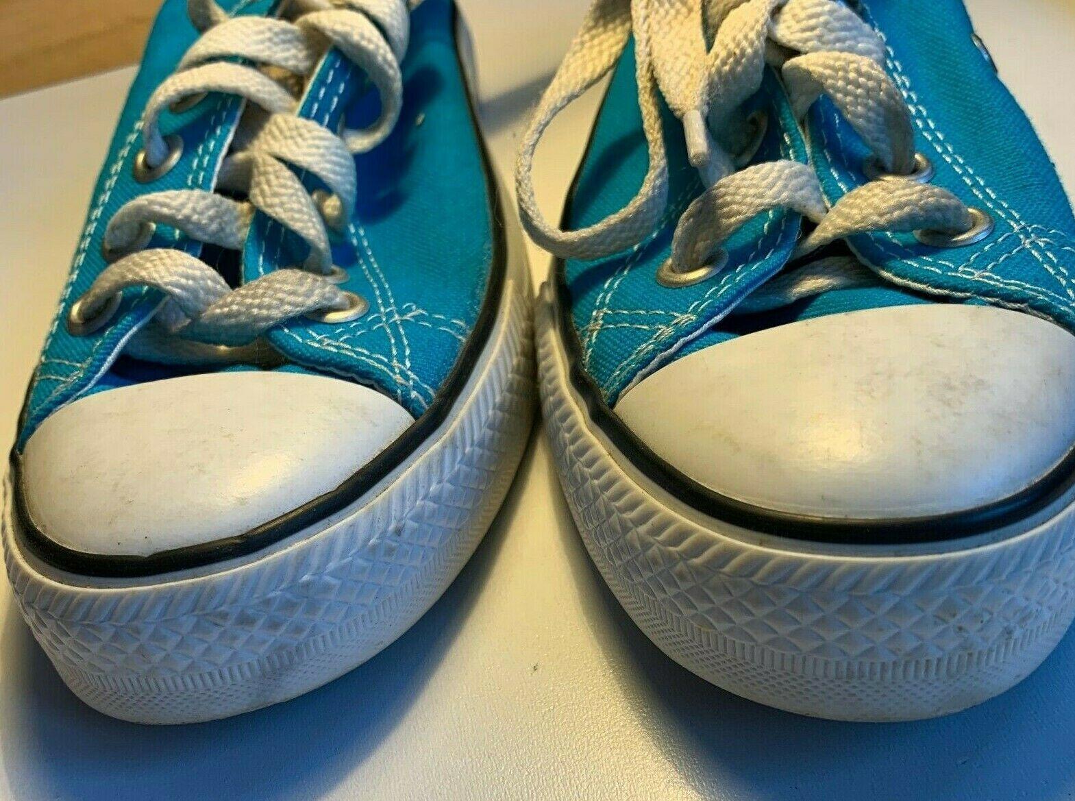 Converse EU36/UK3.5/US6 All Star Chuck Taylor Style Light Blue