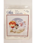 Cathy Needlecraft Up Up and Away Hot Air Balloon Embroidery Kit 0517 - $34.64