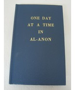 One Day at a Time in Al-Anon 1982 HB Book New Never Used Blue - $29.69