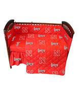 Nebraska Cornhuskers Baby Crib Set - $102.90