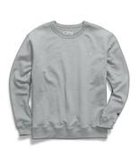 Champion Men's Powerblend Sweats Pullover T-Shirt Crew Oxford Grey CS088... - $24.95