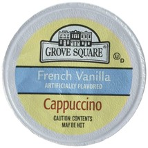 Grove Square Cappuccino, French Vanilla, 50 Single Serve Cups (Packaging... - $23.16
