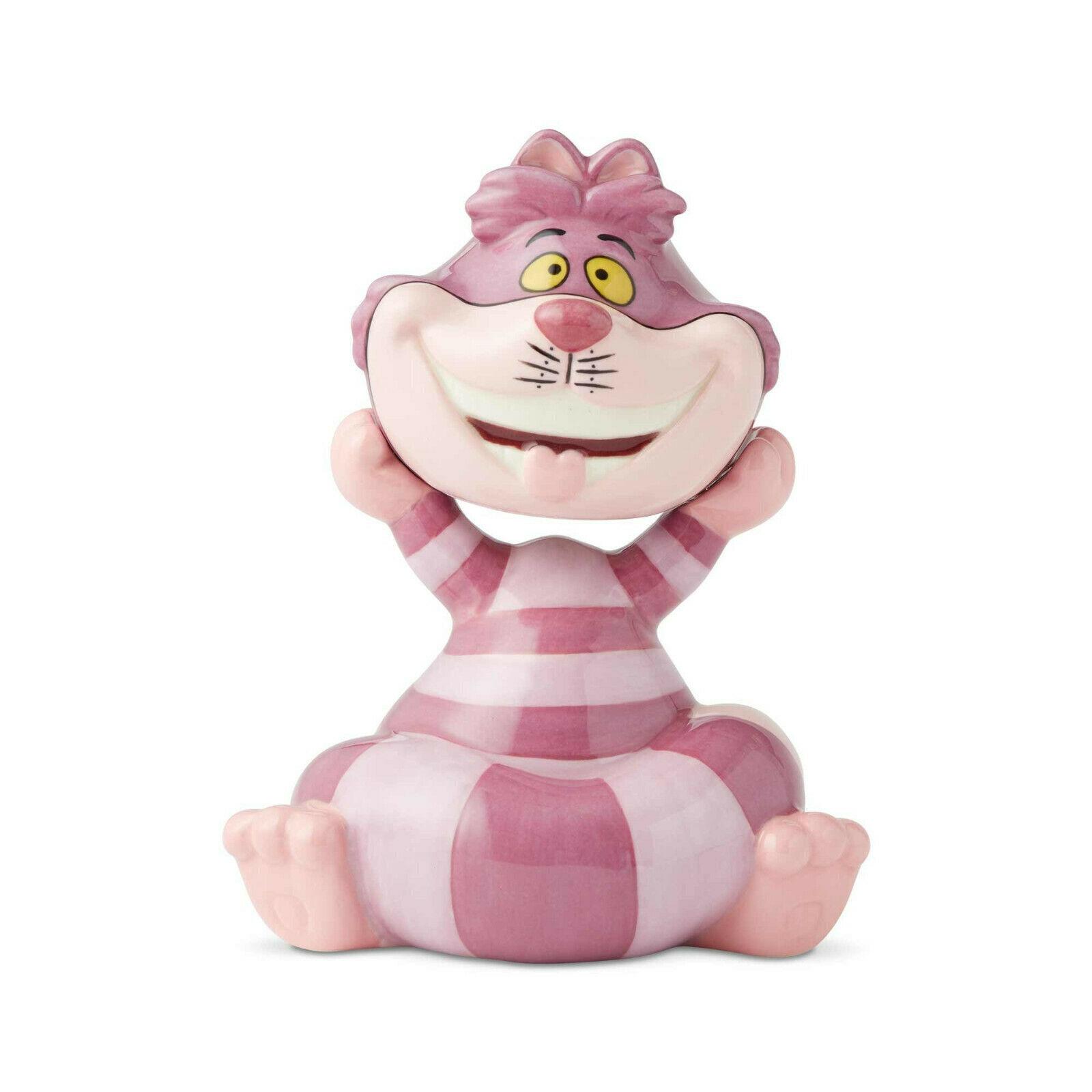 Disney Cheshire Cat Salt Pepper Shakers Set Ceramic Cartoon Collectible Retired