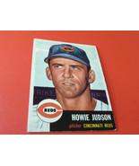 1953  TOPPS    HOWIE  JUDSON   # 12    CINCINNATI  REDS    BASEBALL  !! - $34.99