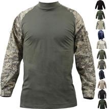 Tactical Combat Shirt Lightweight Military Uniform Heat Resistant Outdoor - $43.99+
