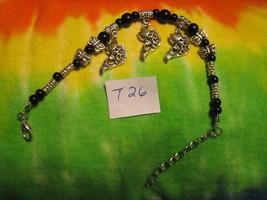 Bracelet Tibet Spiritual Mystery Elegance Power Sexuality Black Beta Fish T26 - $19.75