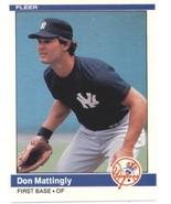1984 Fleer #131 Don Mattingly RC - New York Yankees (RC - Rookie Card) N... - $33.99