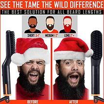 Tame's Easy Glide Beard Straightener - Fast Anti-Scald Beard Straightening Comb  image 4