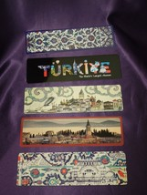 Lot of 14 Vintage Bookmarks Turkey Istanbul Tourism Souvenir Book Marks - $19.80