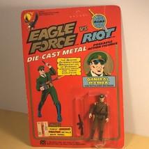 1981 MEGO EAGLE FORCE ACTION FIGURE MOC DIE CAST METAL TOY SOLDIER GENER... - $70.54