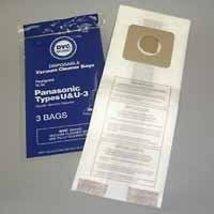 DVC 405493 Panasonic U, U3 Paper Bag (3 Pack) - $5.44