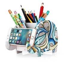 COOLBROS Elephant Pencil Holder With Phone Holder Desk Organizer Desktop... - $211,20 MXN