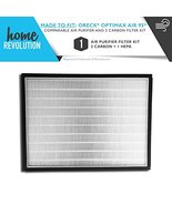 Home Revolution 1 HEPA + 2 Carbon Replacement Filters, Fits Oreck Optima... - $39.95