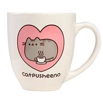 Pusheen Cat 18 oz Mug,White - $20.32