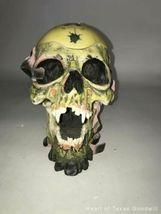 2002 Metallica Rare Pushead Skull Ashtray Statue Bust Stash Original Box IOB image 4