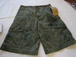 Marc Ecko boys shorts size 16 NWT burnt olive green NEW youth cargo Boy's - $33.29