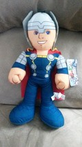"MARVEL AVENGERS ASSEMBLE THOR Brand New Licensed Plush Stuffed Animal 14"" - $11.99"