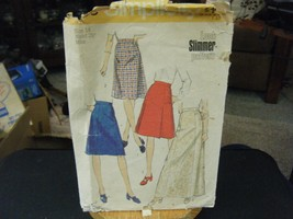 Simplicity 6313 Misses Set of Skirts Pattern - Size 14 Waist 28 - $6.29