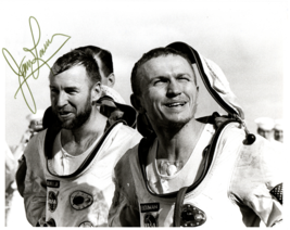 Signed (by Astronaut James Lovell) Photograph of Gemini 7 Astronauts on ... - $300.00