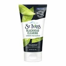 St. Ives Blackhead Clearing Face Scrub, Green Tea, 6 oz - $6.03