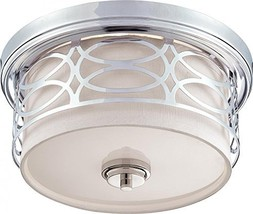 Nuvo Lighting 60/4627 Two Light Flush Mount - $109.26