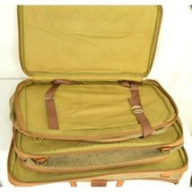 "Hartmann Luggage 21"" Tweed & Leather Vintage Carry on image 3"