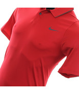 NWT Nike Tiger Woods TW VELOCITY MAX UV PIQUÉ RED Men Polo 726201-687 SZ XL NEW - $41.23