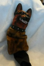 "Bag Barker 18"" Golf Club Head Cover German Shepard  - Growls and barks - $48.00"