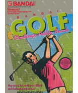Bandai Golf Challenge Pebble Beach NINTENDO NES Video Game - $3.97