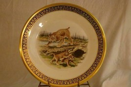 "Lenox Annual 1980 Woodland Life Bobcats Collector Plate 10 3/4"" - $17.32"