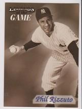 1998 Fleer / SI Legends Phil Rizzuto card, New York Yankees HOF - $0.99