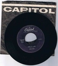 Ferlin Husky Wings of a Dove 45 rpm Record B side Next to Jimmy - $6.77