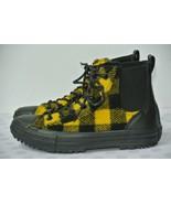NEW Converse Chelsea Woolrich Womens Sz 7.5 M Black Yellow Hi Top Boots ... - $34.64