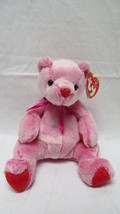 TY Retired Beanie Babies Romance Pink Bear - $6.79