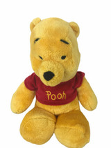 "Winnie The Pooh Plush Stuffed Animal Doll Toy 11"" Bean Bag Feet Disney Just Play - $29.69"