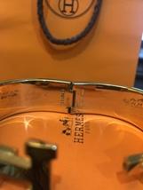 Authentic HERMES Clic Clac Wide Bracelet H BLACK GOLD HW SZ M Bangle  image 10