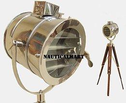 NauticalMart Home Decorative Vintage Designer Tripod Floor Lamp Searchlight  - $199.00