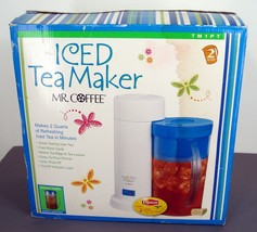 MR COFFEE Iced Tea Maker 2 Quart Ice Coffee Aut... - $42.08