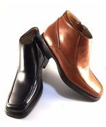 La Milano B5506 Tan Leather Men's Dressy Ankle Boots  - $47.20